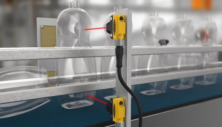 optical sensors are used for the in-line process
